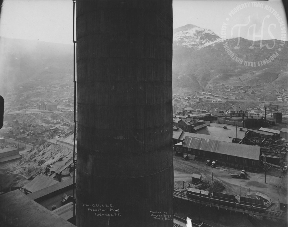 Reduction Plant, Trail Smelter (Hughes) - 1925