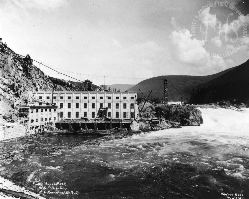 Lower Bonnington Dam (Hughes) - 1925