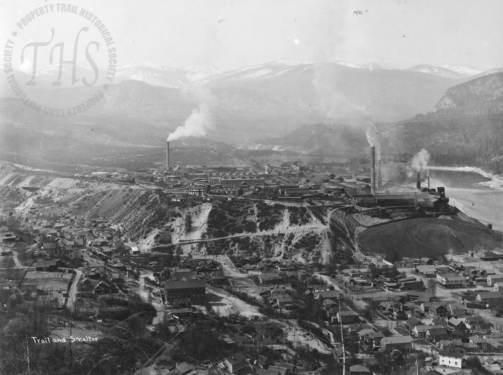 Trail Smelter view (Hughes) - 1930