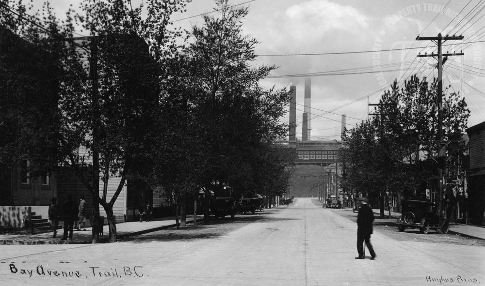 Bay Avenue, Trail, BC (Hughes)  - 1925