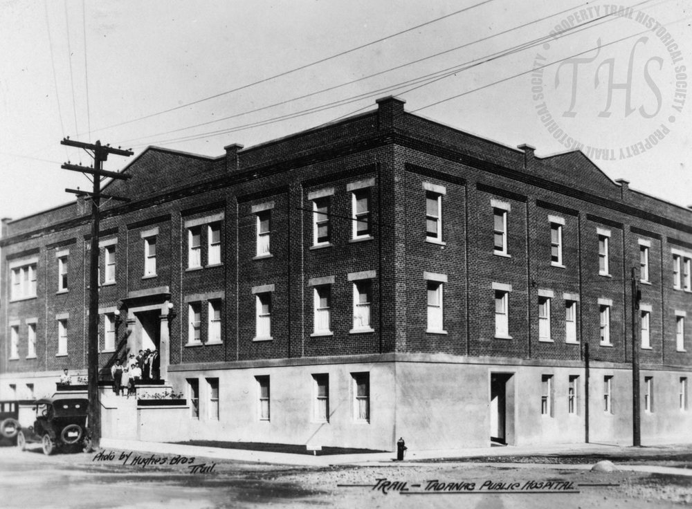 Trail-Tadanac Hospital (Hughes) - 1926