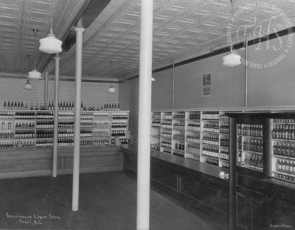 Government Liquor Store, 1253 Cedar Avenue (Hughes) - 1928