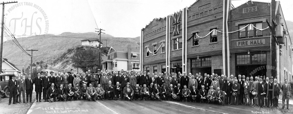 Union of BC Municipalities Convention, Trail BC (Hughes) - 1928