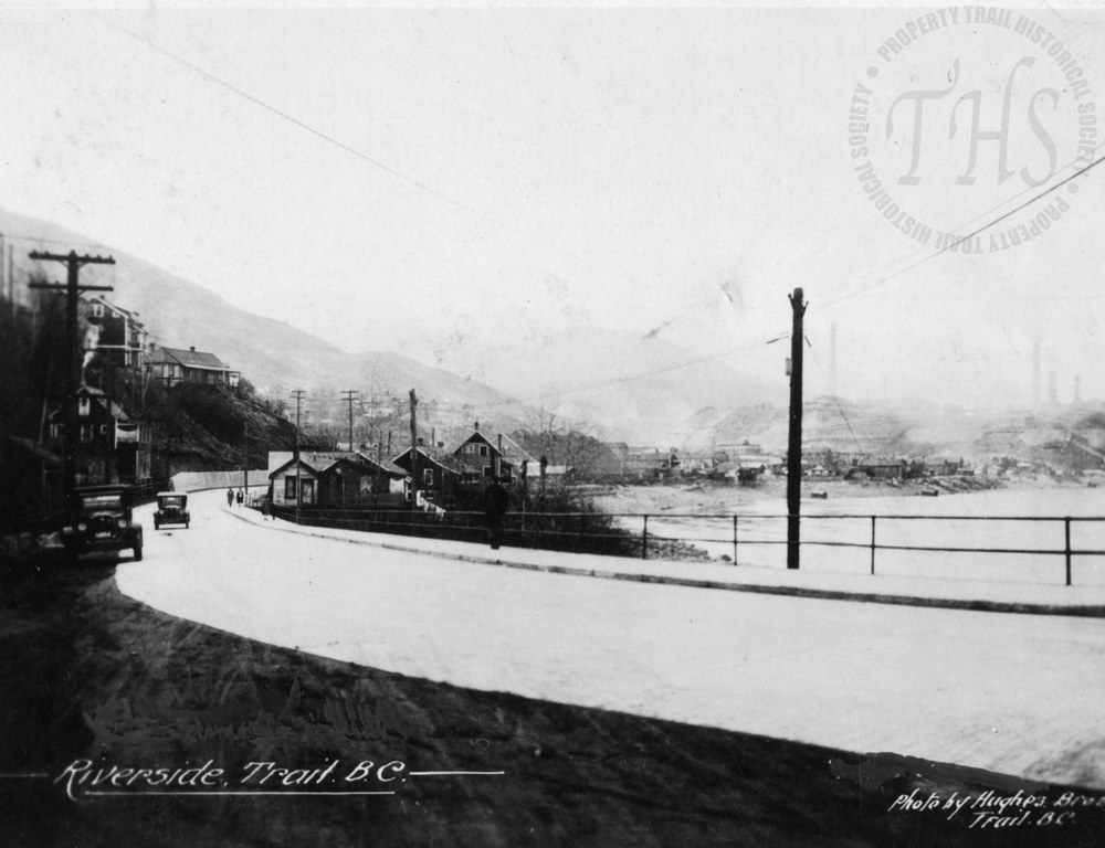 Riverside Avenue and Smelter, paving complete (Hughes) - 1930