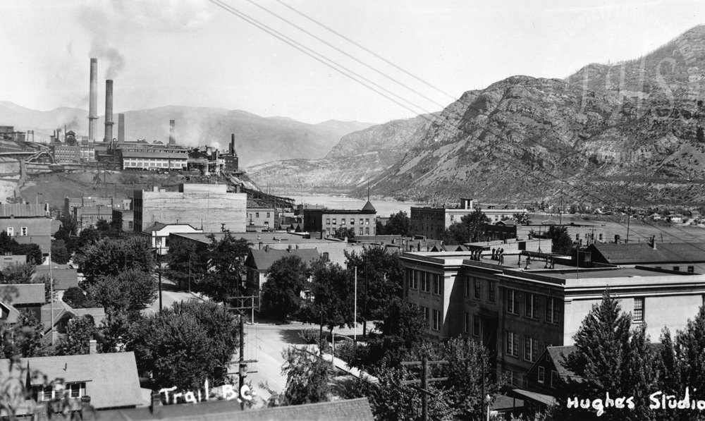 Downtown Trail, towards Smelter (Hughes) - 1938