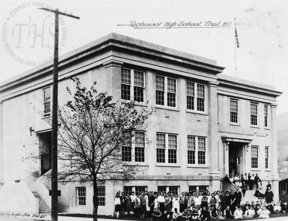 Trail Technical High School (Hughes) - 1930