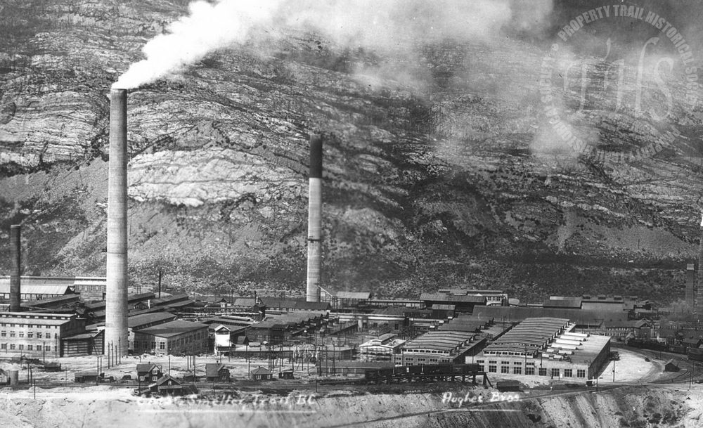 Trail Smelter, looking north (Hughes) - 1930