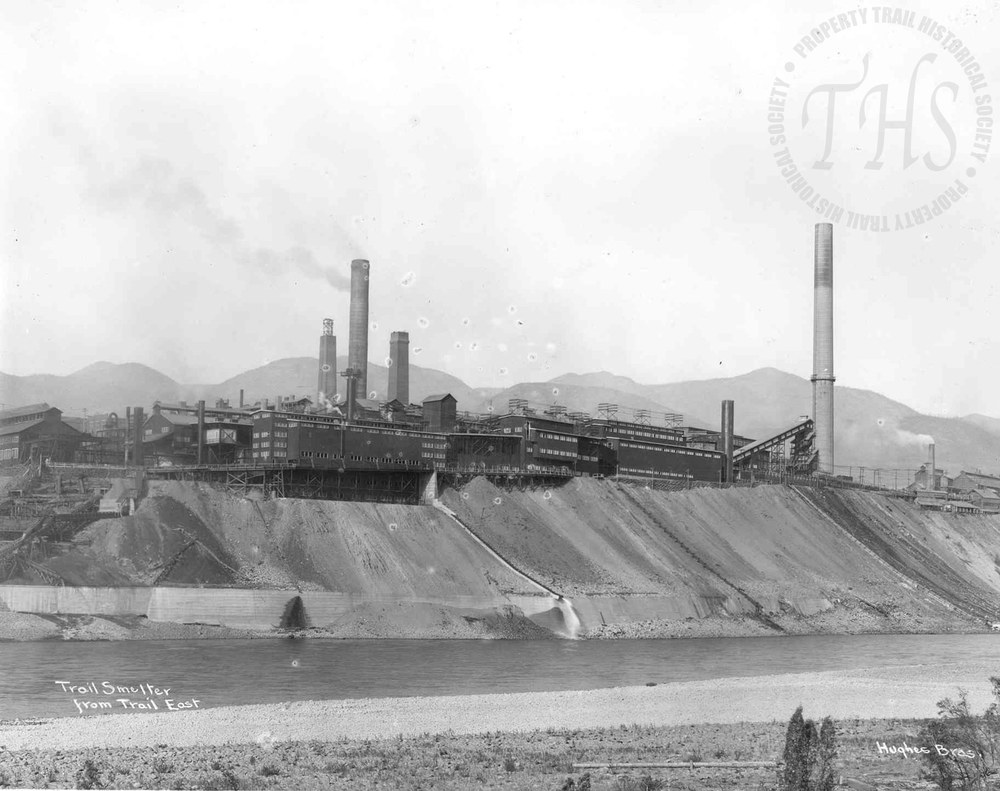 Smelter from East Trail (Hughes) - 1932