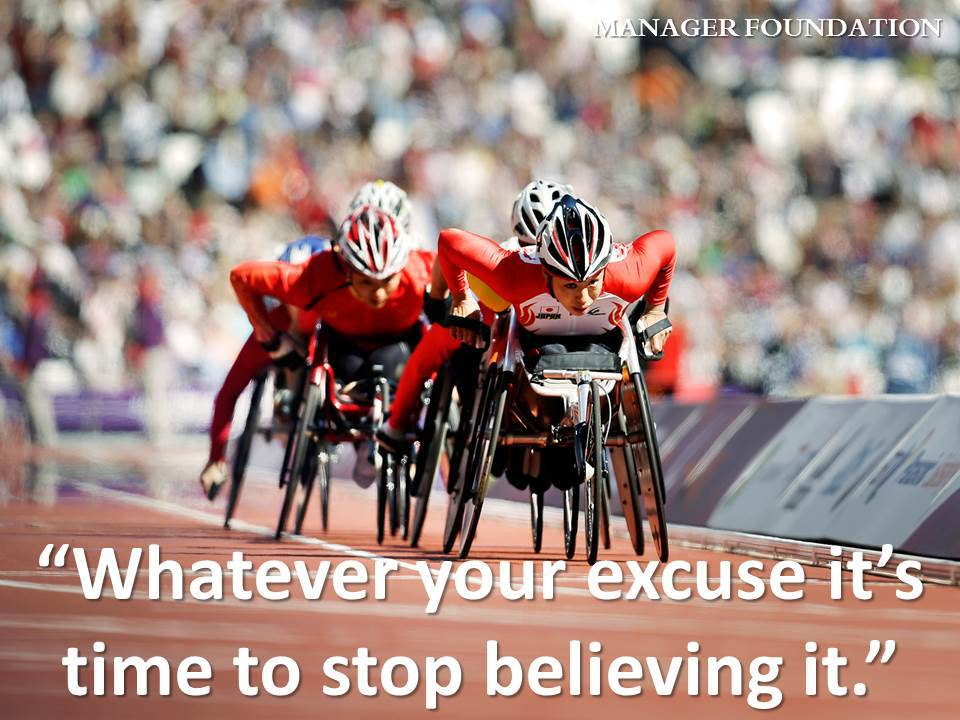 Whatever Your Excuse it's Time to Stop Believing it Quote CD.jpg