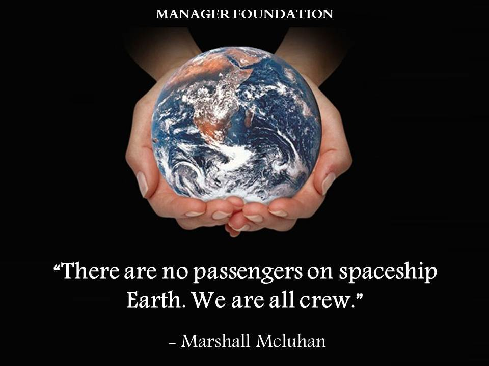 Marshall Mcluhan No Passengers on Spaceship Earth Quote CD.jpg