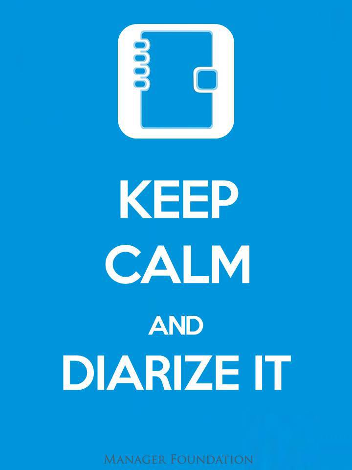 Keep Calm & Diarize It