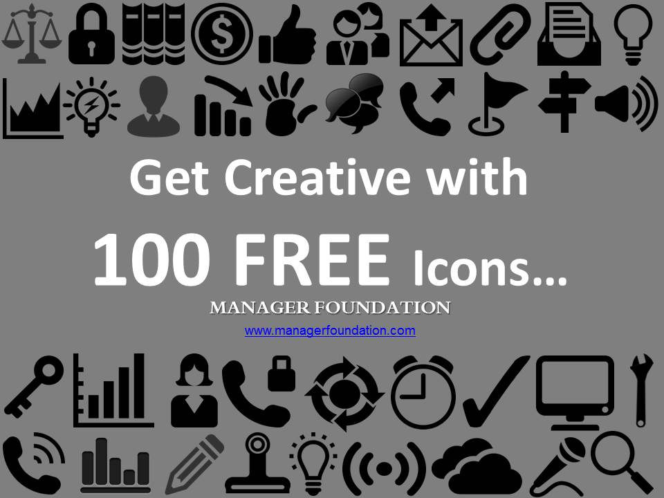 100 FREE Icons Download