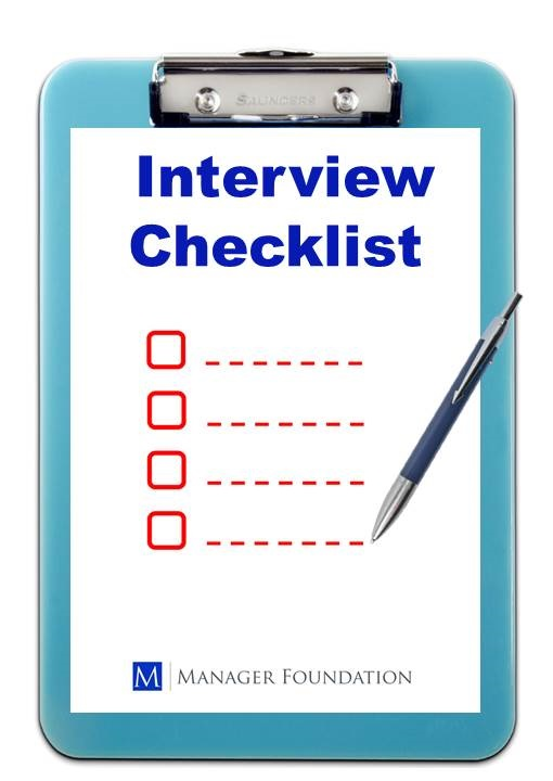 A Step-by-Step Interview Checklist to Improve Performance Through Hiring