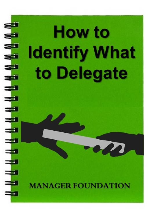 GET MORE DONE BY DELEGATING EFFECTIVELY. HOW TO IDENTIFY WHAT TO DELEGATE