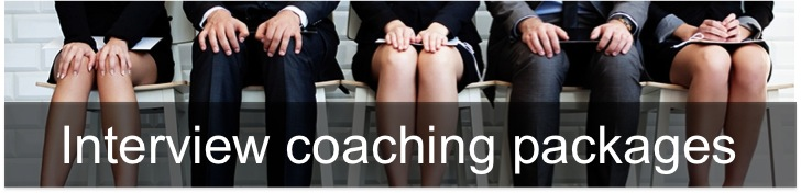 Interview coaching options