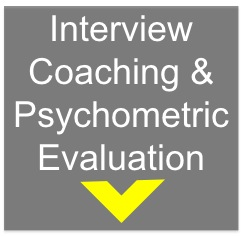 Interview coaching and psychometric testing