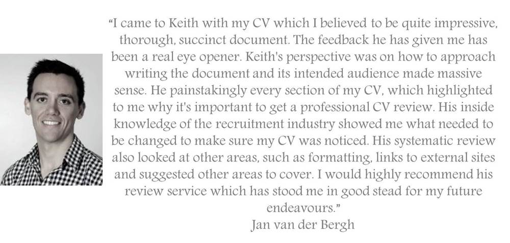 testimonial for the Manager Foundation Resume Review and Resume Writing Service jpeg