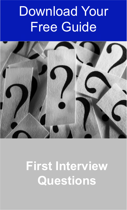 Download Your Free First Interview Questions Guide Jpeg
