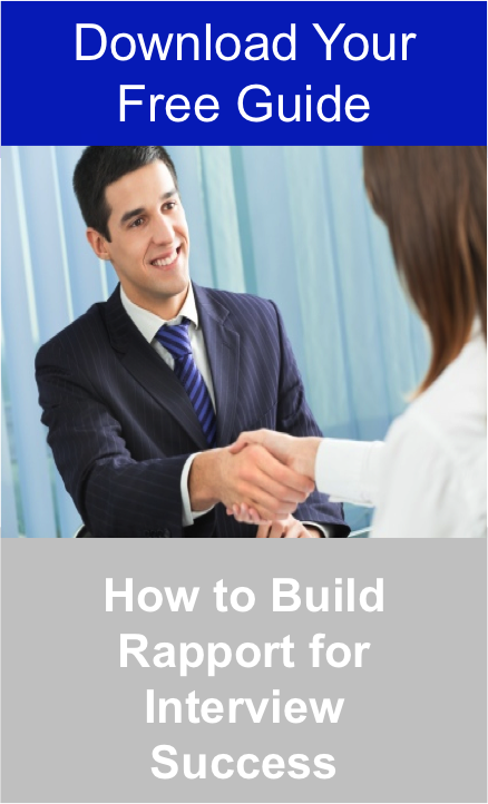 How to Build Rapport for Interview Success - Download Your Free Guide Jpeg