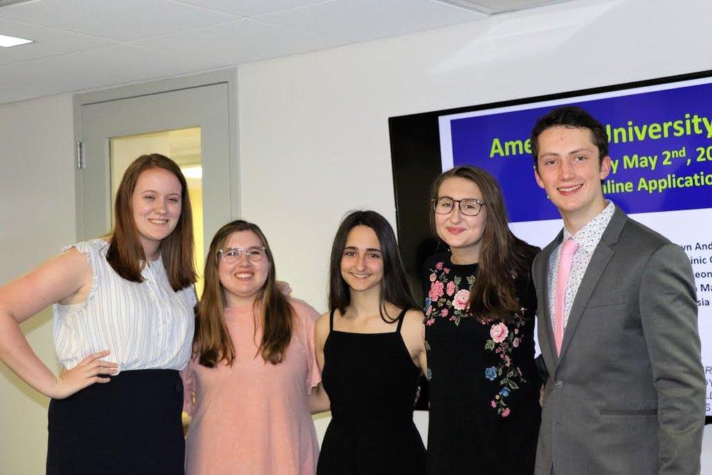 2018 CBR Scholars