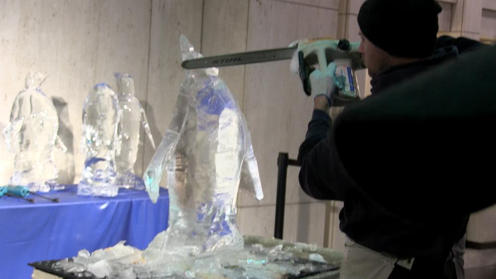 Okamoto Ice Carving 2