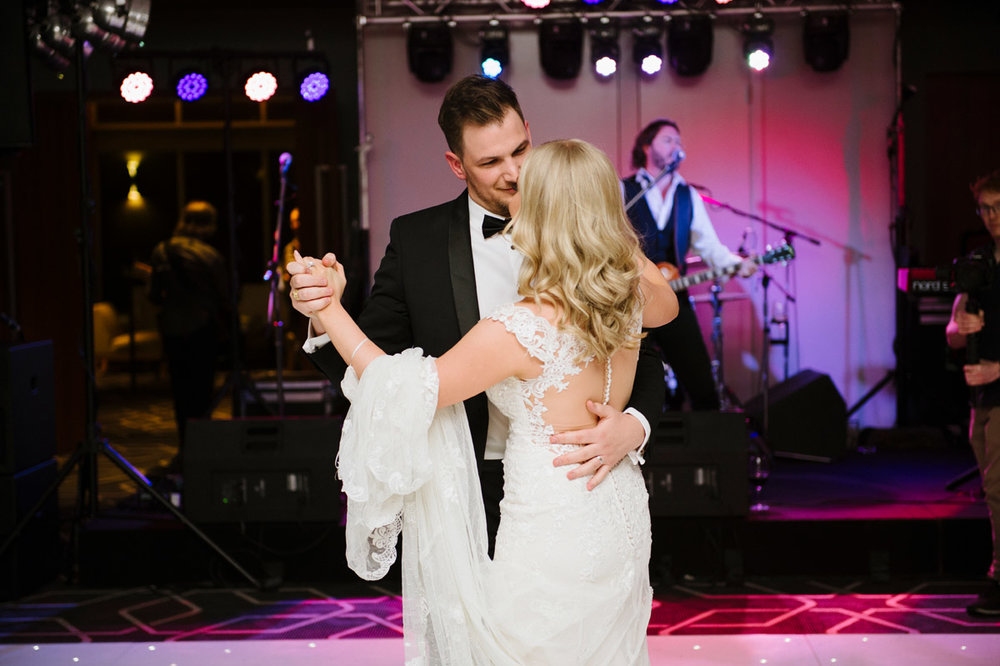 A beautiful & rocking wedding