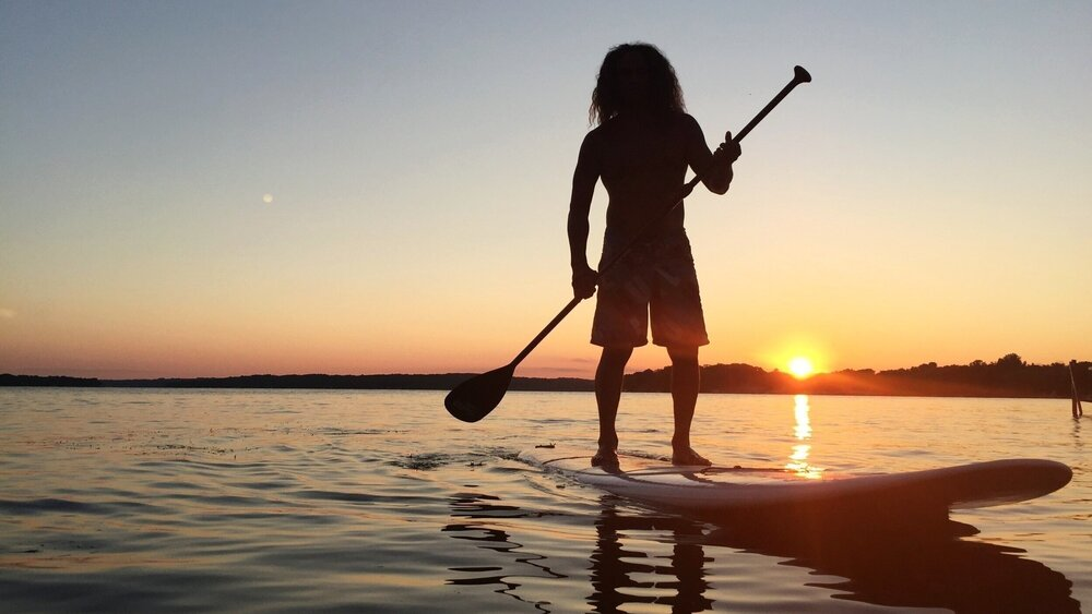 Paddleboard in Pewaukee