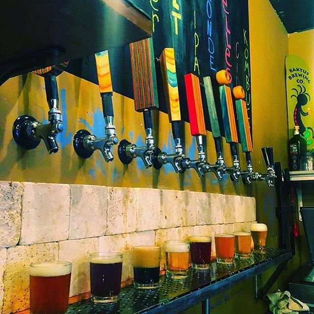 @kaktusbrewingco has a bunch of our taps and we customize them by #laserengraving them. Hit us up if you want some!