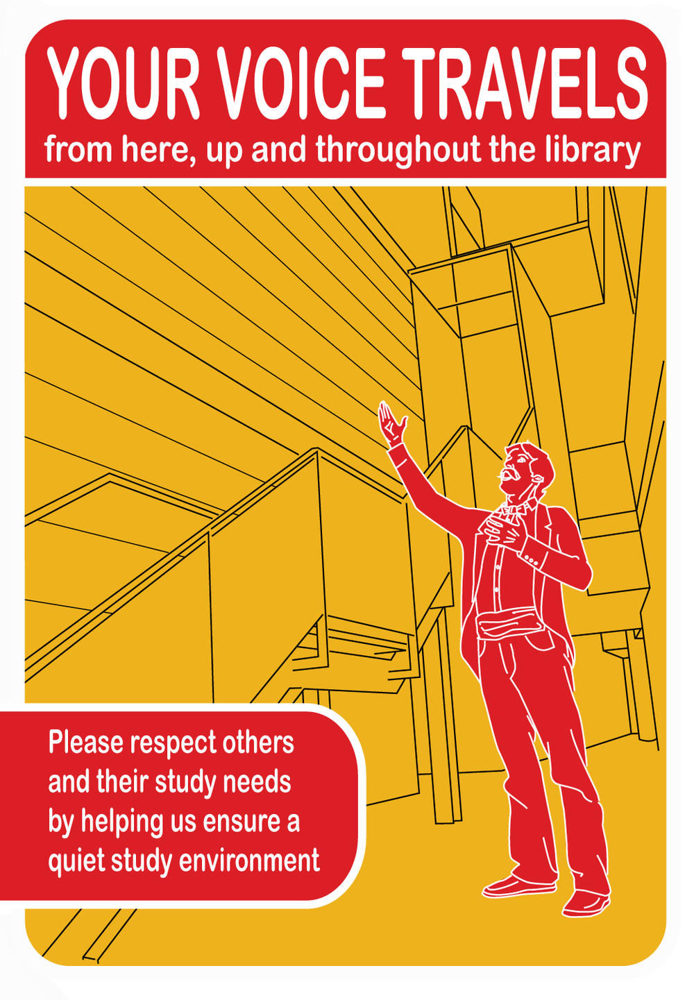 Part of a series of information posters for the Information Resources and library buildings of Brighton University. copyright University of Brighton.
