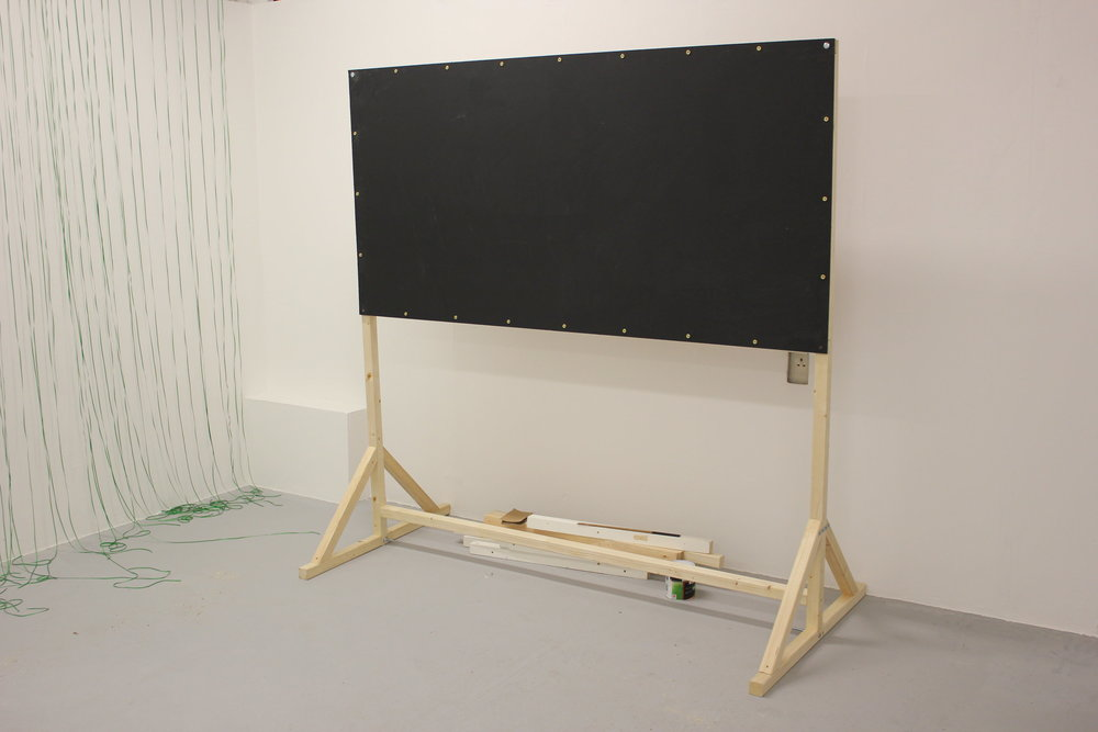 BlackBoard one 2mx1m board size.