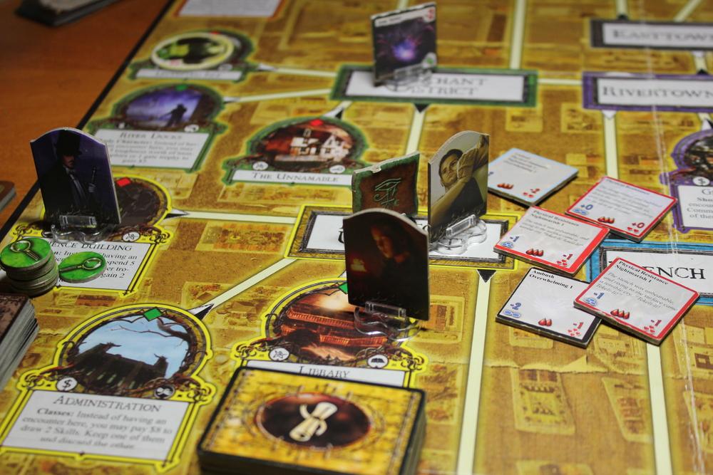 Hank wades in: Wraith, Leng Spider, Shoggoth, Shoggoth, Proto-Shoggoth.