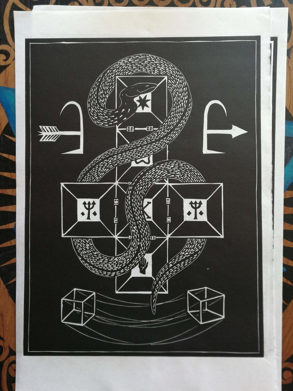 The Serpent in the Tesseract