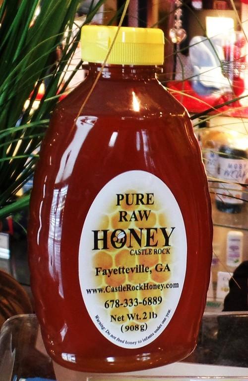 32 oz Castle Rock Pure Raw Honey