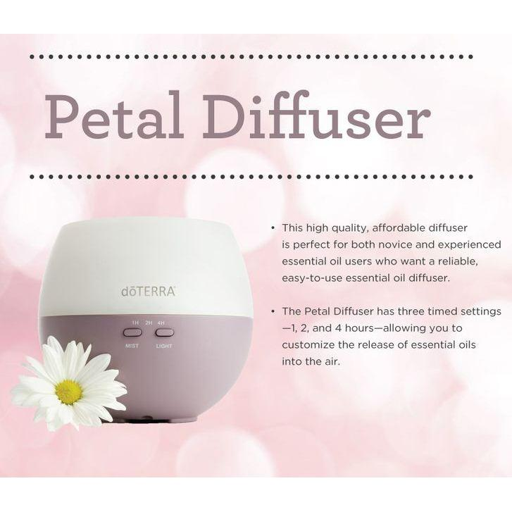 how to clean doterra petal diffuser