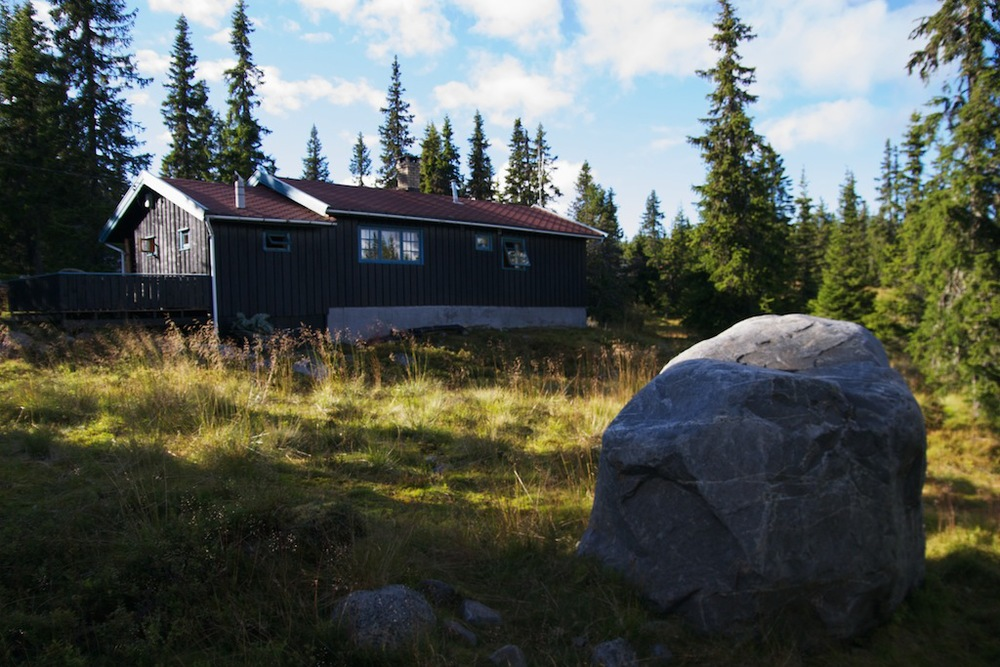 Mountain cabin on Sjusjøen
