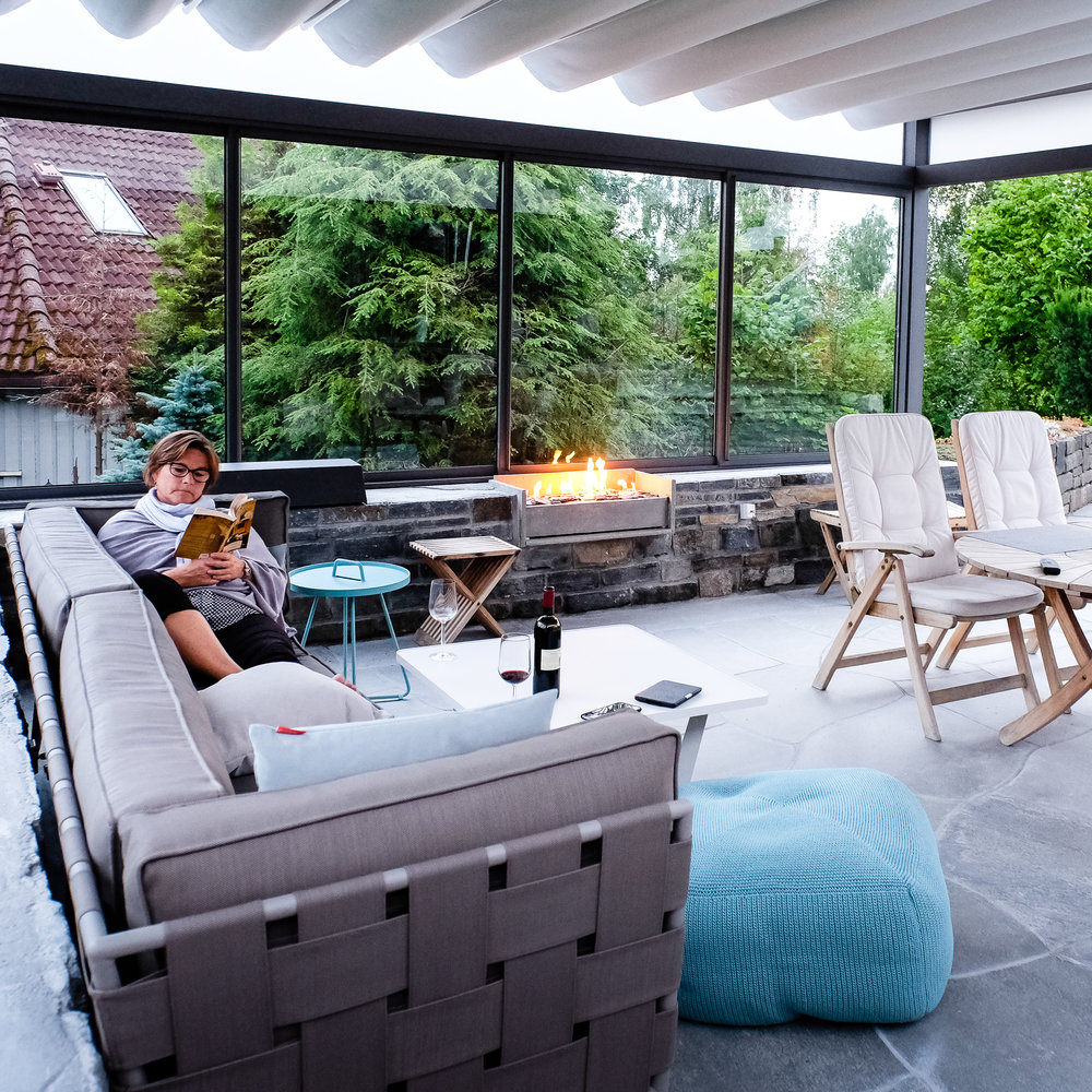 Creating comfortable outdoor spaces in Norway