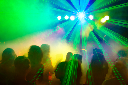 Lasers light shows are popular but can be dangerous