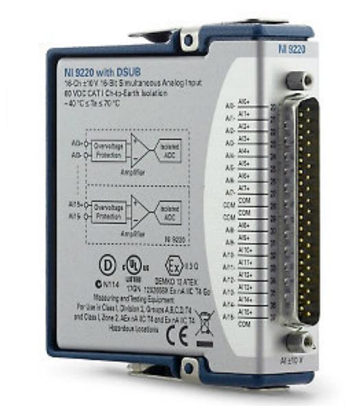 cDAQ sensor module