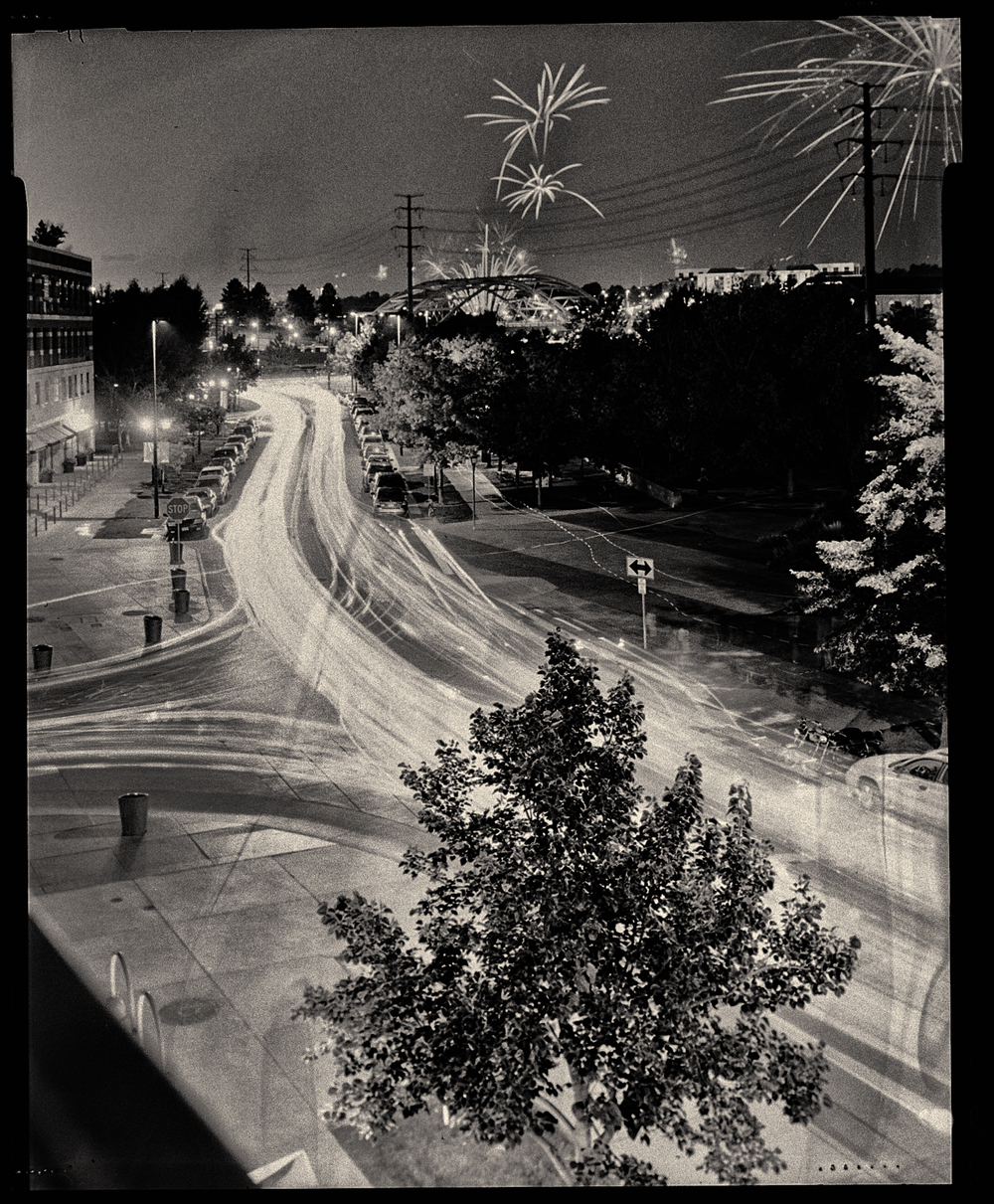 "©Matt Hill 4x5"" 4-minute exposure shot with MeFOTO Backpacker"
