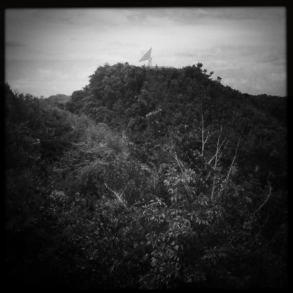 © Matt Hill  A little bonus shot of another radio telescope from Arecibo.