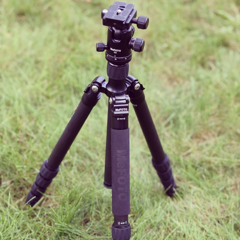 Here is the GlobeTrotter in tripod format. You can convert both the GlobeTrotter and RoadTrip into monopods.