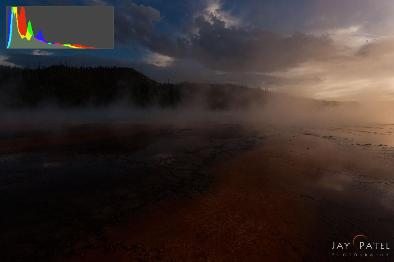 Under Exposed Scene – Yellowstone National Park, WY (USA)