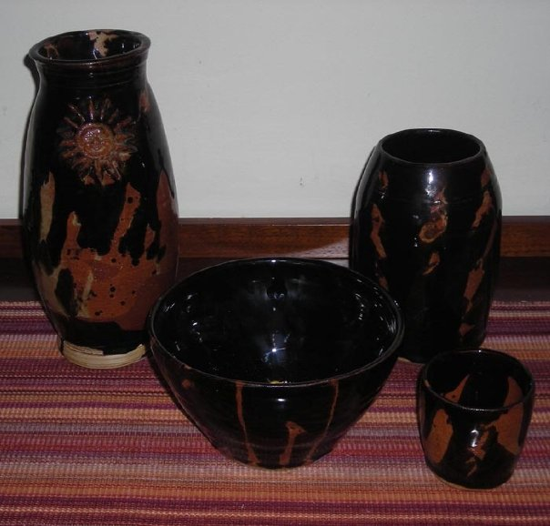 Cinnamon Black Pottery