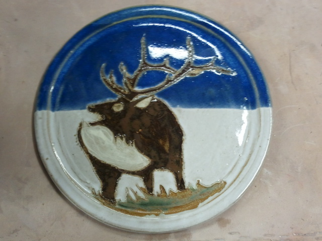 Elk on a Plate