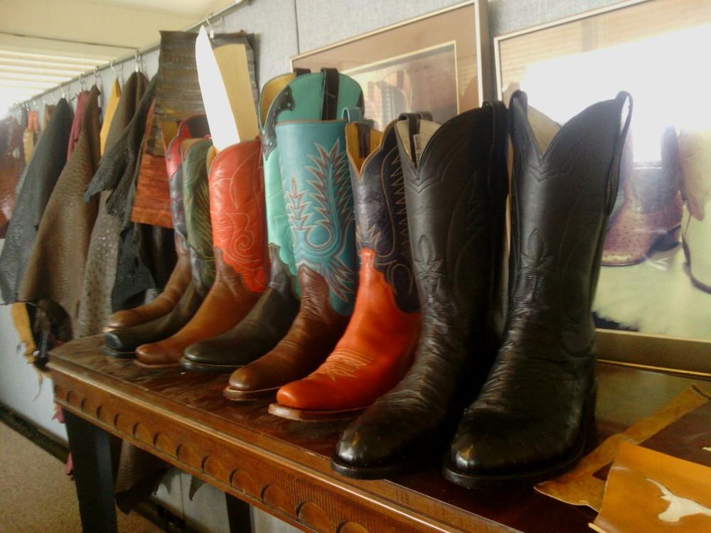 Boot Samples Leverett Boots Custom Handmade Cowboy