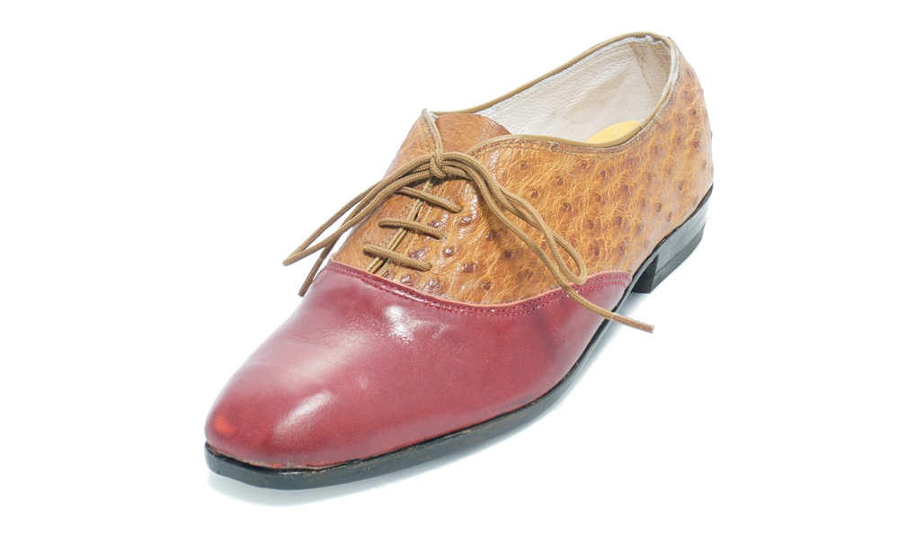 ostrich oxford shoe