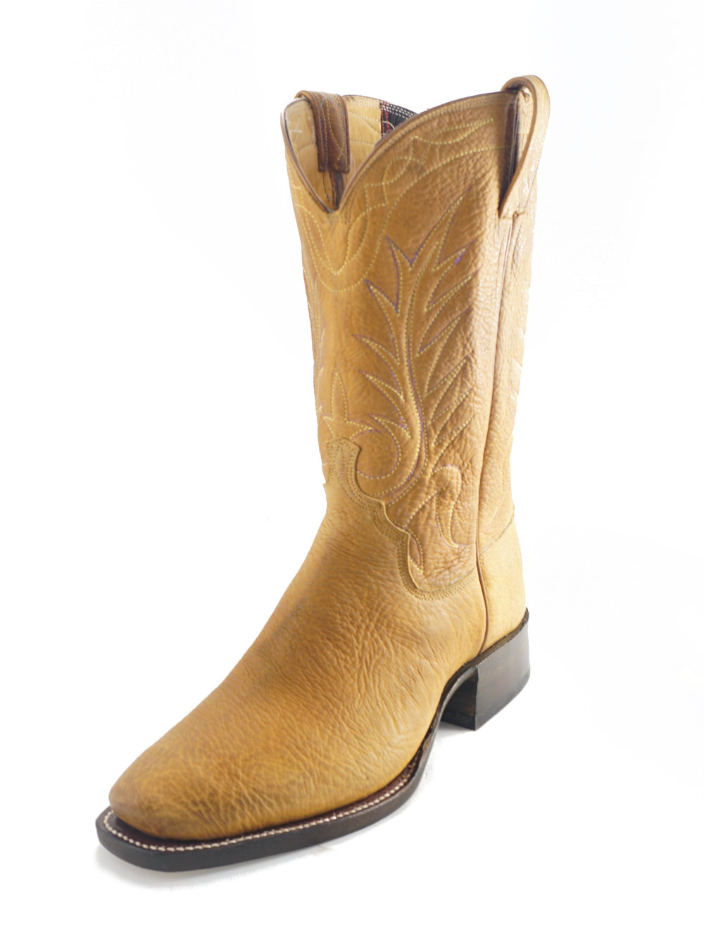 bull hide boots