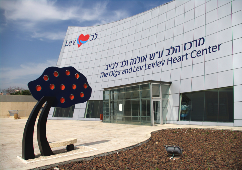 PoeTree – Misley Zigi Ben-Haim, 2011 18 x 108 x 55 inches | Aluminun, Stone, and Epoxy Paint Sheba Medical Center, Israel