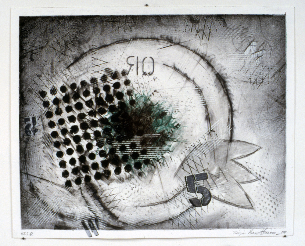 "Untitled    1991   Graphite on paper  17"" x 14""  (C-330)"