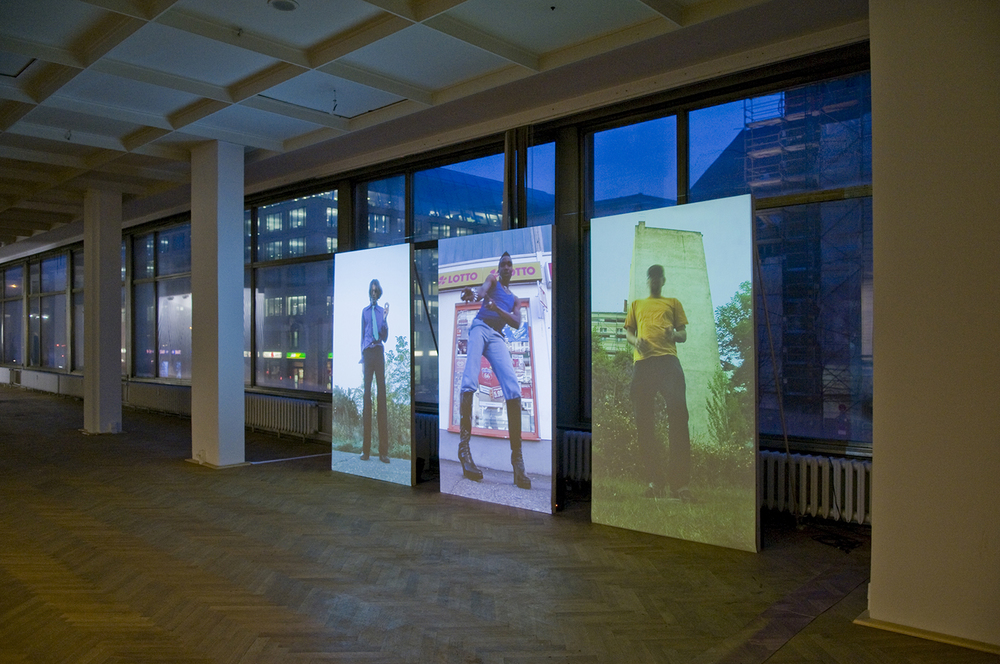 Installation view at Esemplasticism: The Truth is a Compromise - Club Transmediale, Berlin                                         Image: Hicham Khalidi